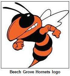 Beech Grove Hornets logo.