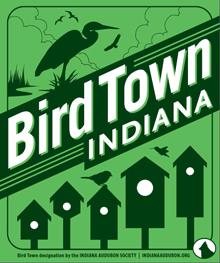 Bird Town Indiana graphic.
