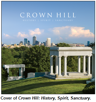 Crown Hill History, Spirit, Sanctuary book cover.