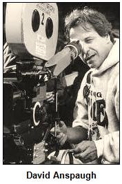 David Anspaugh behind camera.