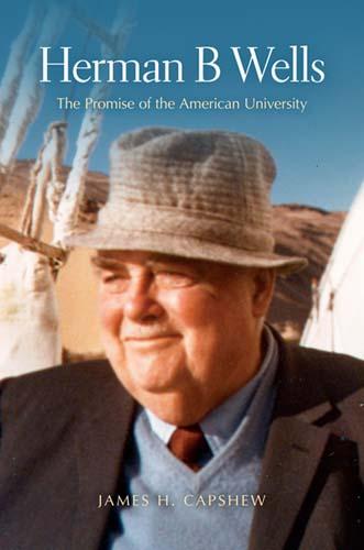 Herman B Wells book cover.