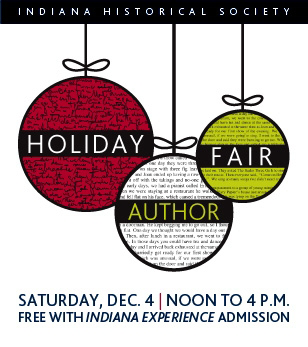 Holiday Author Fair graphic.