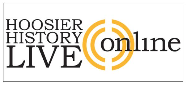 Hoosier History Live Online logo