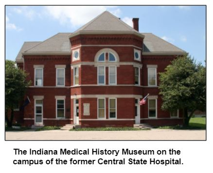 The Indiana Medical History Museum on the campus of the former Central State Hospital.