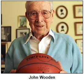 John Wooden.