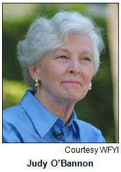 Judy O'Bannon. Image courtesy WFYI.