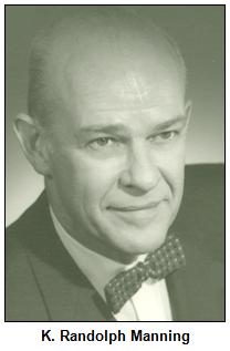 Dr. K. Randolph Manning.