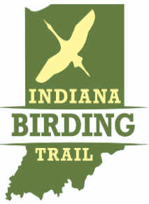 Logo: Indiana Birding Trail.