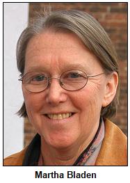 Martha Bladen, 2013.