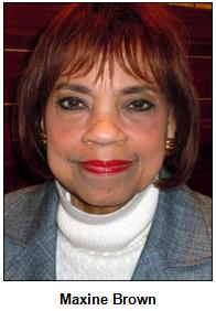 Maxine Brown.