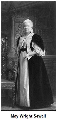 May Wright Sewall.