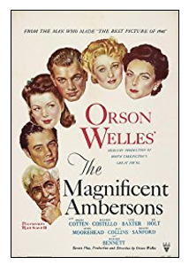 Movie poster - The Magnificent Ambersons