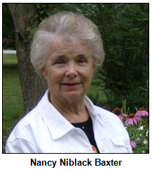 Nancy Niblack Baxter.