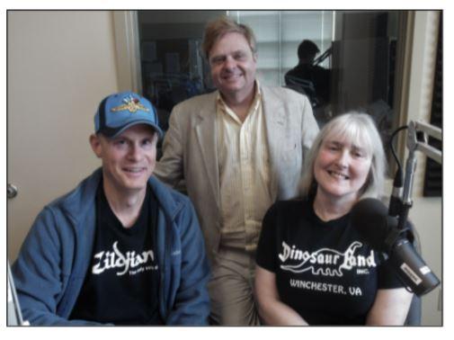 Paul Diebold, Nelson Price and Glory-June Greiff.