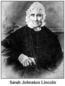 Sarah Johnston Lincoln.