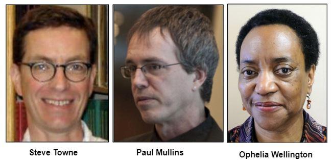 Steve Towne, Paul Mullins, Ophelia Wellington.