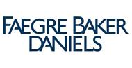 Faegre Baker Daniels logo.