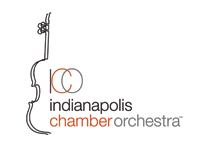 Indianapolis Chamber Orchestra logo.