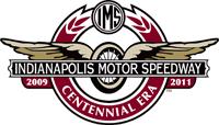 Indianapolis Motor Speedway centennial logo.