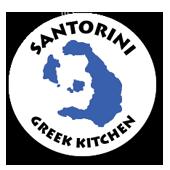 Santorini Greek Kitchen logo.