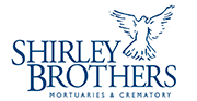 Shirley Brothers Mortuaries and Crematory logo.